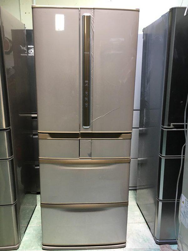 Tủ lạnh nội địa HITACHI R-SF45XM hút chân không